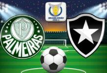 Acompanhar Palmeiras x Botafogo